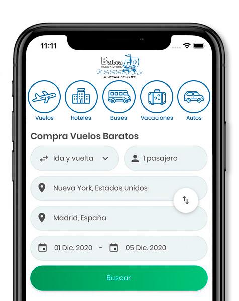 App Balboa Viajes y Turismo Ltda.